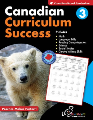 Canadian Curriculum Success - Grade 3