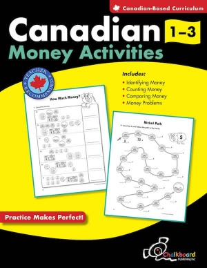 Canadian Money Activities - Grades 1-3